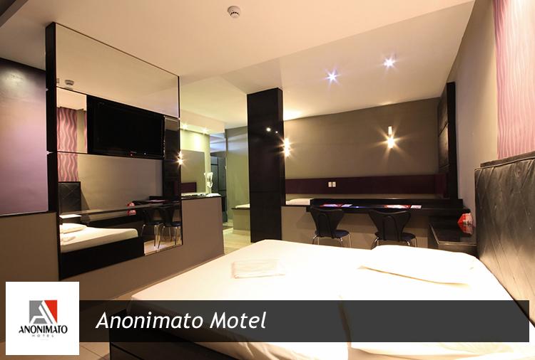 Anonimato Motel: 20% off em Suíte com Hidro + Garrafa de Chandon!