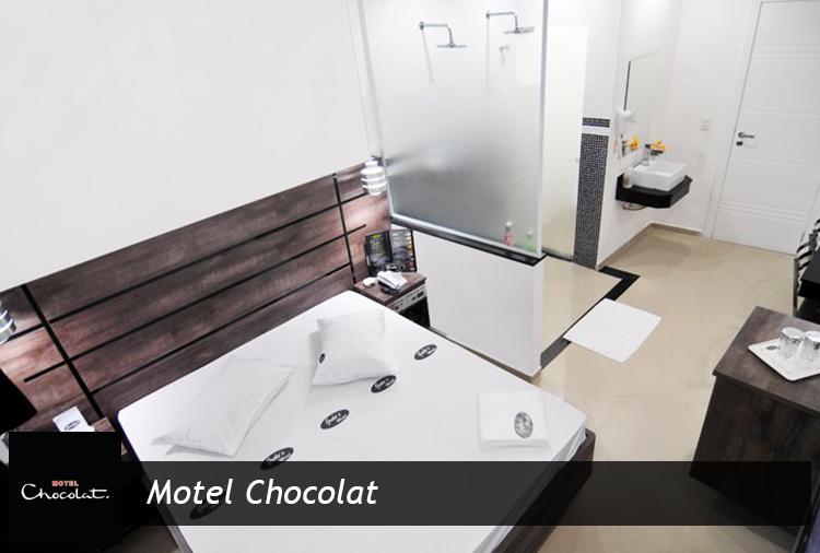 Motel Chocolat: Período de 12h a partir de R$ 43,40!
