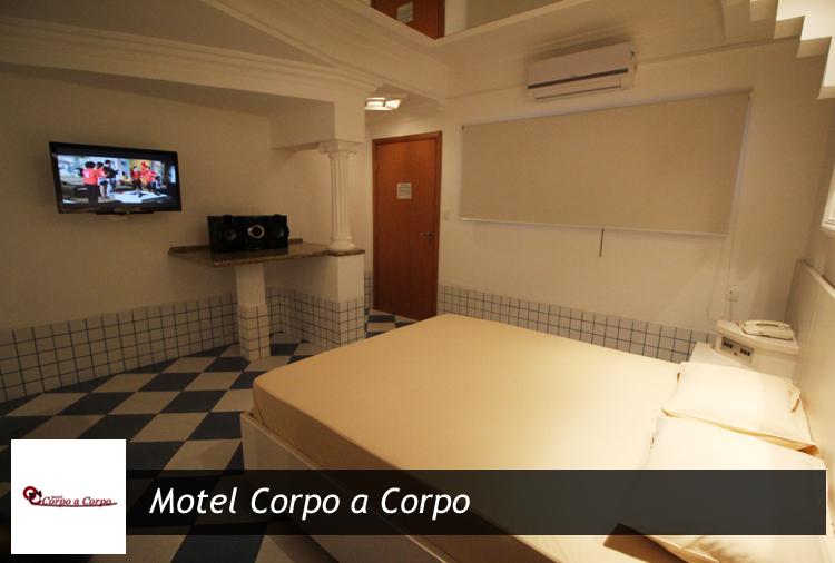 Motel Corpo a Corpo: até 12h com opção de Suítes com Hidro e Sauna!