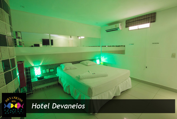 Hotel Devaneios: Permanência de 4h e opção com hidro. Aproveite!