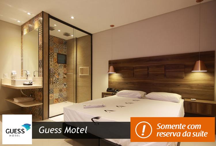 Pernoite + Café da Manhã a partir de R$ 84,80 no Guess Motel!