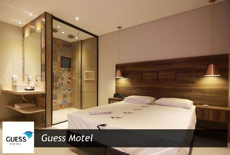 Guess Motel: Suítes a partir de R$ 60,20 ou Pernoite no fim de semana!