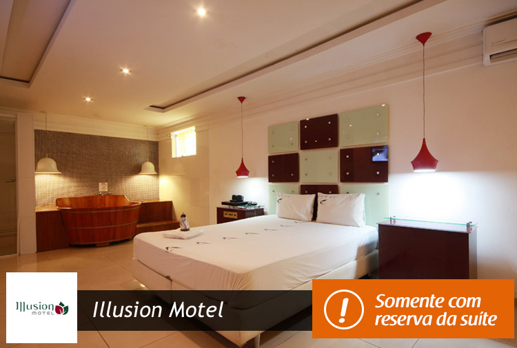Illusion Motel: Love Pack Pernoite + Café da Manhã a partir de R$ 83,20!