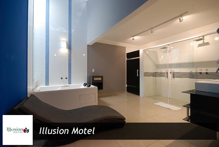 Suítes a partir de R$ 41,30 no Illusion Motel! Opções com suíte com hidro!