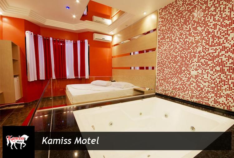 Motel Kamiss: Pacotes Promocionais a partir de R$ 163,50!