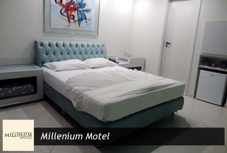 Millenium Motel: Período de 4h ou Pernoite em Suítes com Hidro com 25% de desconto!