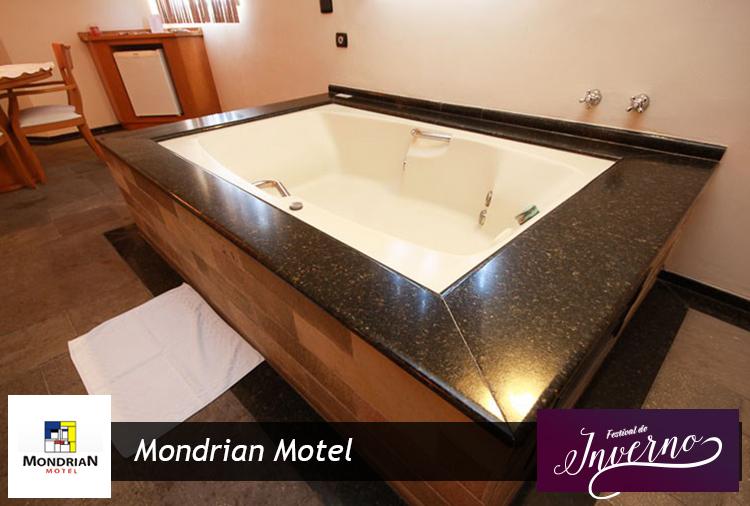 Festival de Inverno todos os dias no Mondrian! 4h ou 12h em Suítes com piscina aquecida, aproveite!