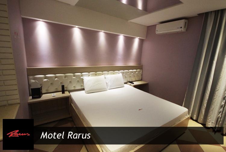 55% off no Motel Rarus, período de 4 horas por apenas R$ 39,90!