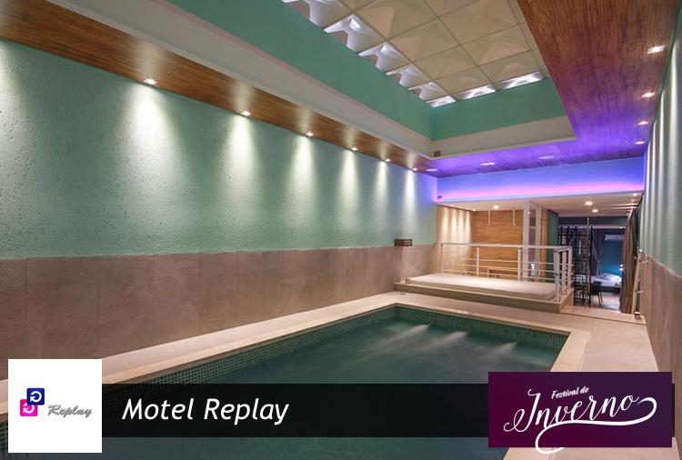 Festival de Inverno no Motel Replay - Guarulhos! Venha conferir!