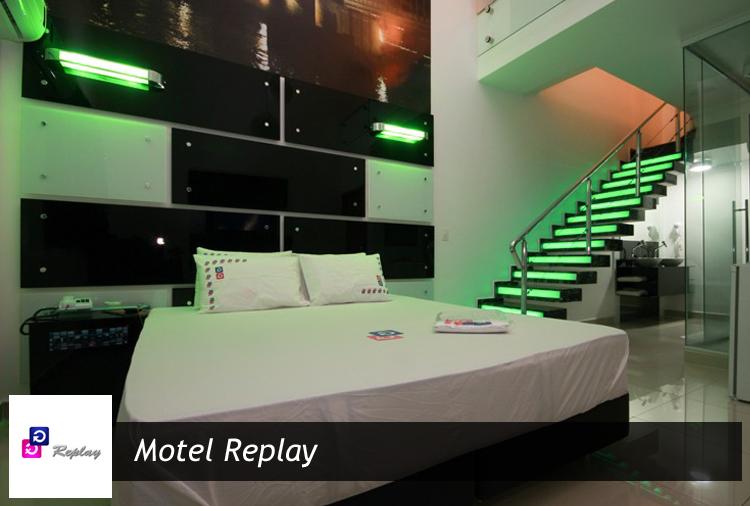 6h ou 12h em Suítes com opção de Ofurô ou Piscina no Motel Replay - Guarulhos!