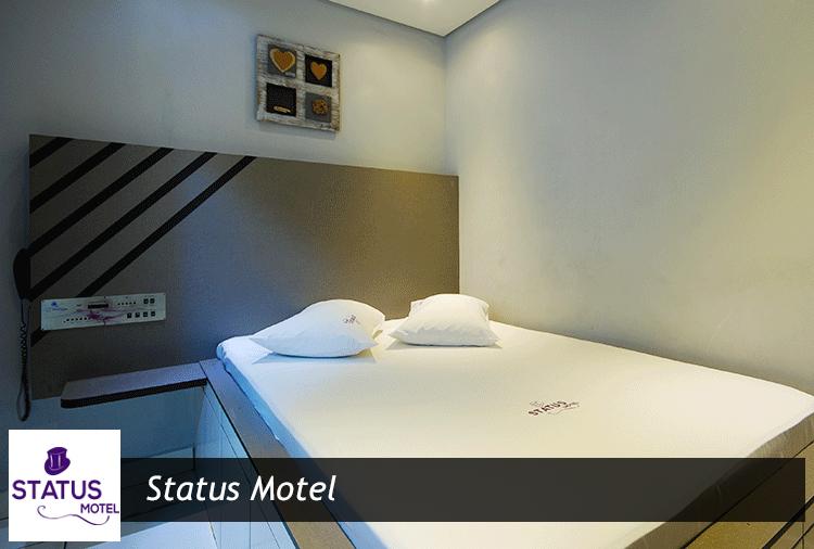 Status Motel: Até 41% off em opções de suítes com hidro e sauna!