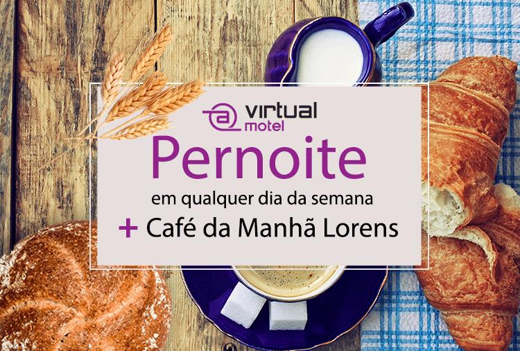 Love Pack no Virtual! Opções com Café da Manhã a partir de R$ 79,92!