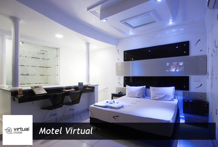 Motel Virtual - Períodos de 3h ou 12h em suítes com ofurô ou hidro!