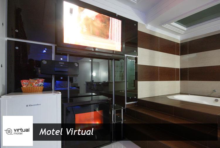 Motel Virtual - Períodos de 3h, 6h ou 12h em suítes com ofurô ou hidro!