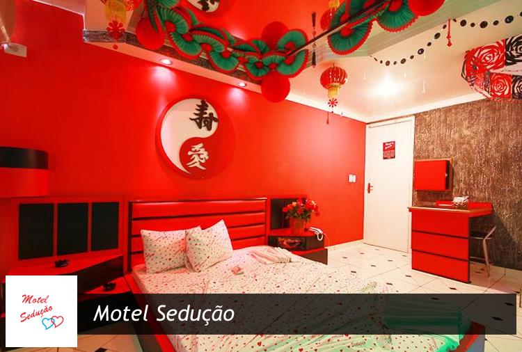 Suítes a partir de R$ 44,50 no Motel Sedução na Zona Norte!