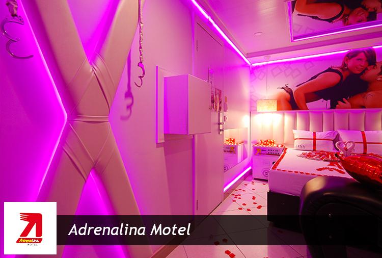 Motel Adrenalina: Até 46% off no Pernoite ou Diária de Natal ou Réveillon! Suítes a partir de R$ 55,00!