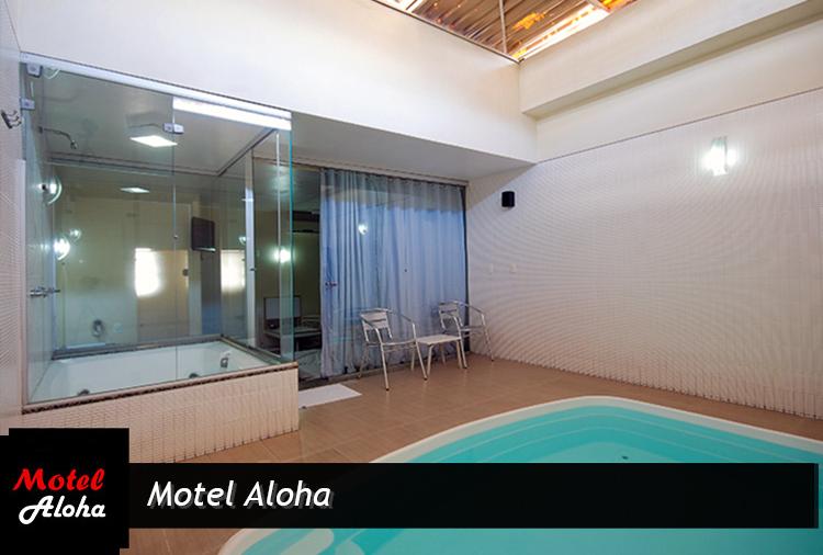 Motel Aloha: até 30% off em suíte com piscina aquecida e teto solar!