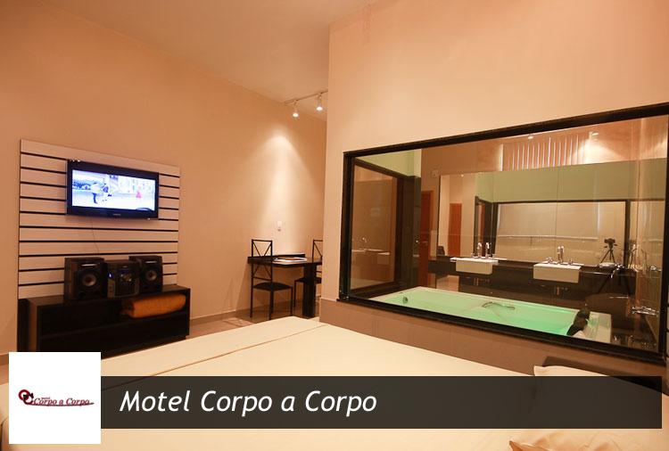 Motel Corpo a Corpo: até 12h e opções com hidro e sauna!