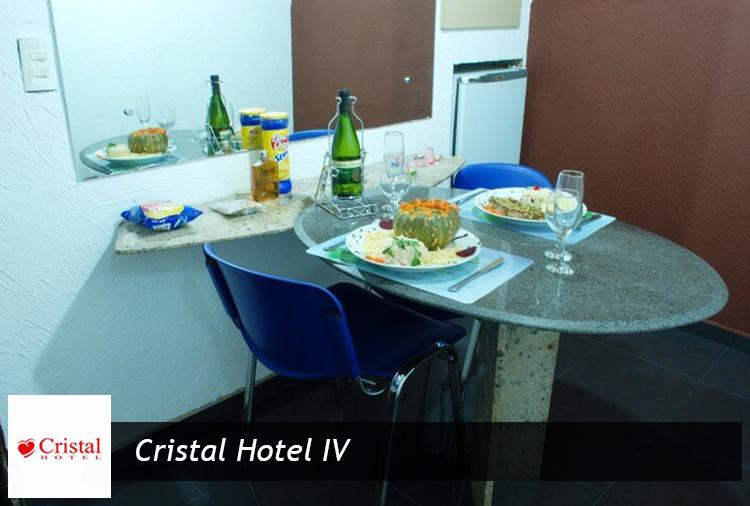 Cristal Hotel IV- Megadesconto nas Suítes Gran Luxo ou Super Luxo!