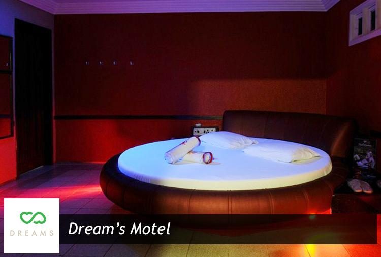 Dream's Motel - 4h a partir de R$ 85! Opções de suítes com piscina, hidro ou cadeira erótica!
