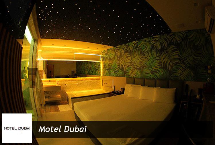 Motel Dubai: Até 25% de desconto. Opções com hidro!
