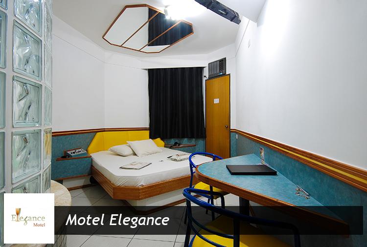 Motel Elegance: Suítes com Hidro por R$ 42,90!