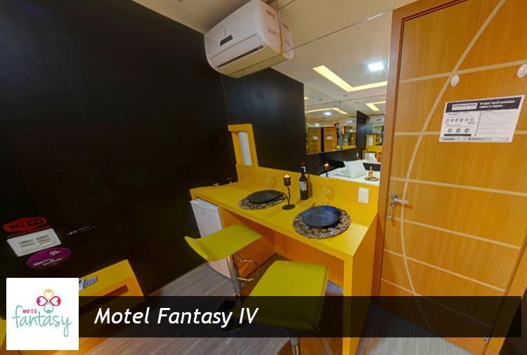 Motel Fantasy IV: Suíte Luxo pela metade do preço!