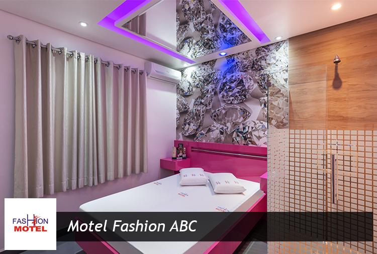 Motel Fashion ABC: período de 3h de R$ 80 por apenas R$ 56,00!
