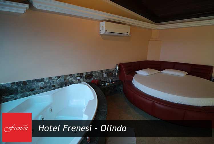 Período de 4h a partir de R$ 55,90 no Hotel Frenesi - Olinda!