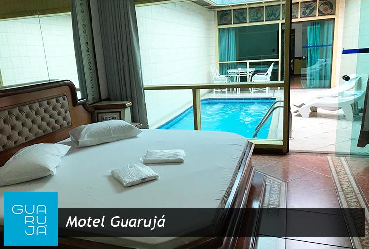 Motel Guarujá: Períodos de até 12h ou pernoite em suítes com piscina!