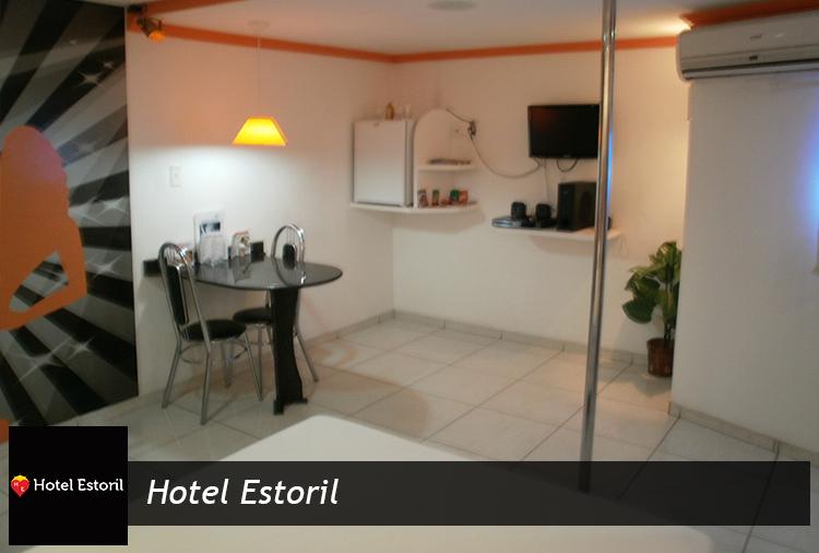 Período de 3h todos os dias a partir de R$ 38,40 no Hotel Estoril!