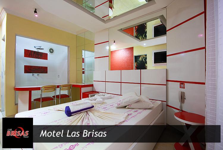 Suítes a partir de R$ 51,90 e opção de Vinho no Motel Las Brisas!