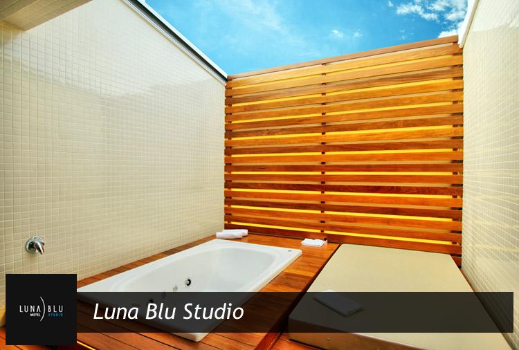 Luna Blu Studio: Aproveite períodos de 6h ou Pernoite + Fondue!
