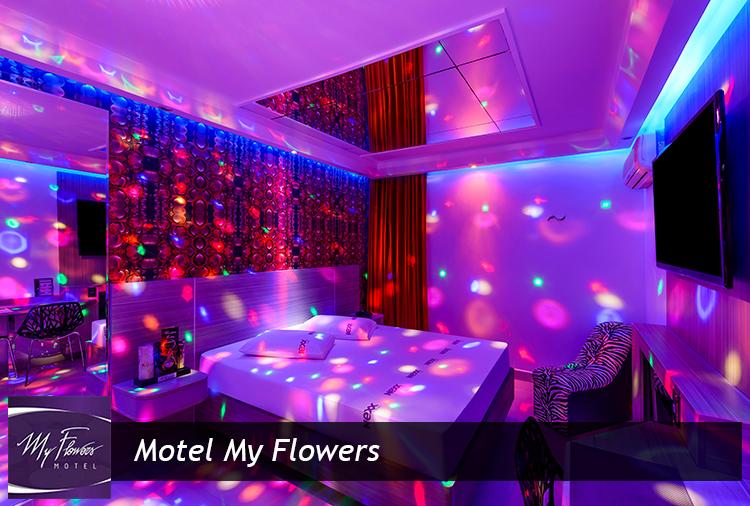 Motel My Flowers: Períodos de 3h ou 12h a partir de R$76,30!