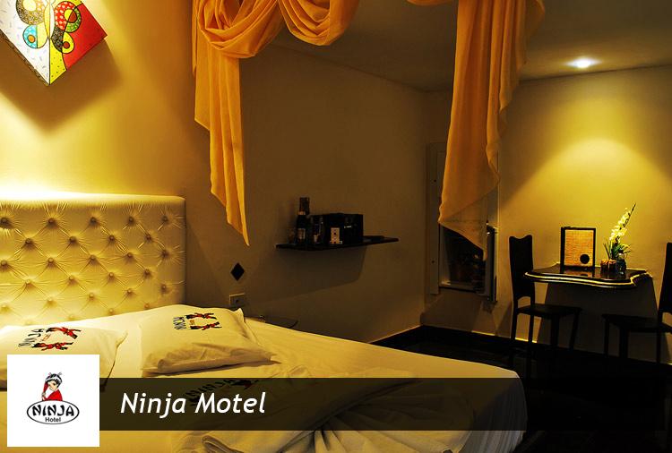 Período de 3 horas + 1 hora adicional grátis no Ninja Motel!