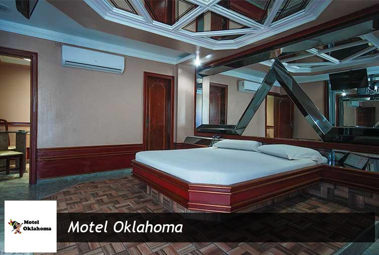Motel Oklahoma: períodos de 6h em suíte com hidro ou piscina!
