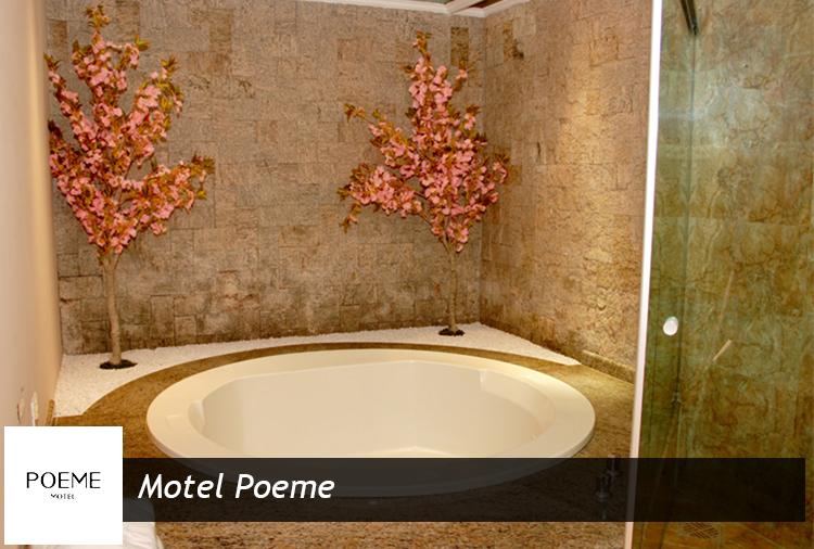 Motel Poeme: 40% de desconto em Suítes com hidro!