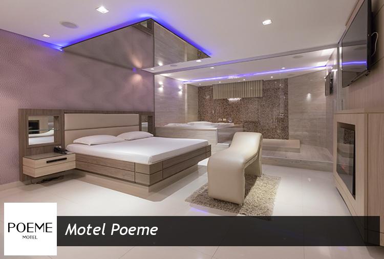 As melhores suítes do Poeme Motel, com descontos imperdíveis!