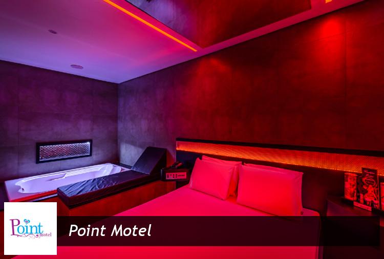 Suítes a partir de R$ 54,60 no Point Motel. Opções com hidro!