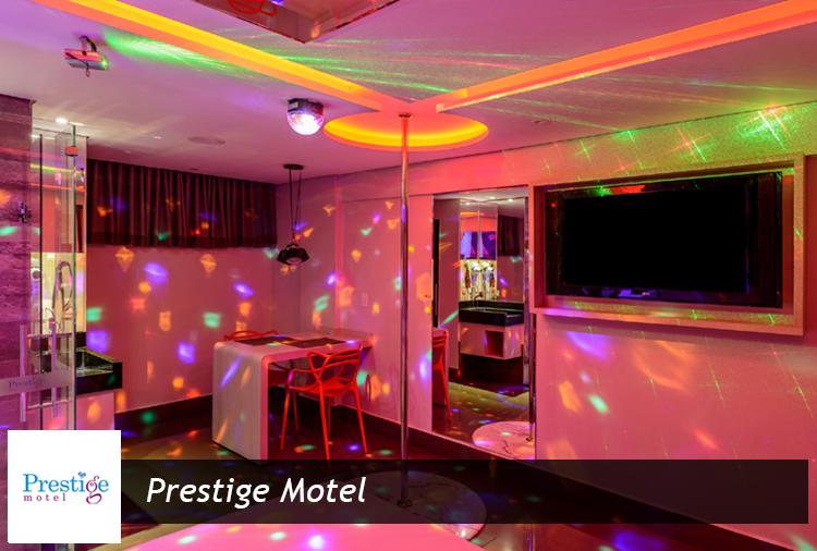 Período de 3h ou 12h a partir de R$ 73,50 no Prestige Motel!