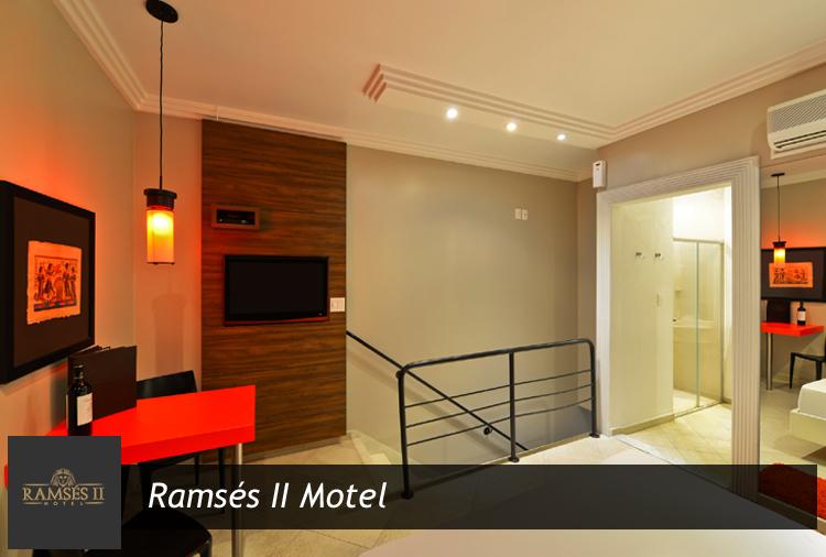 Ramsés II Motel - Suítes a partir de R$ 49,90 e opções com hidro!