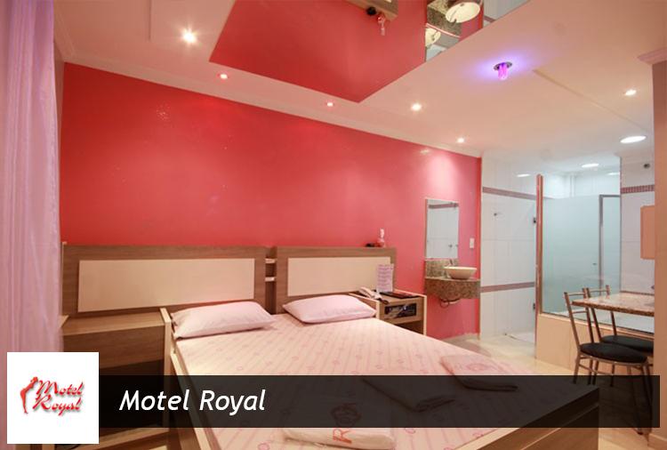 Motel Royal: Períodos de 4h a partir de R$60,00!