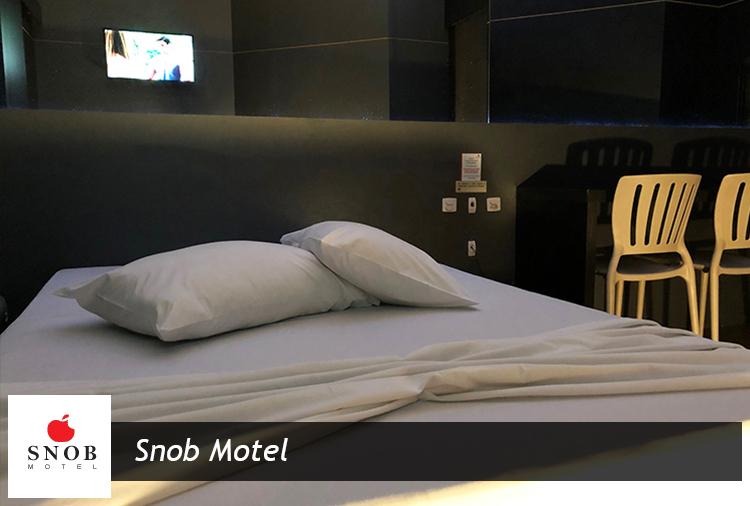 Apartamentos SUPER LUXO por apenas R$ 56,00 no SNOB Motel!