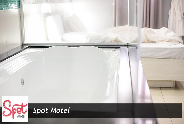 Spot Motel: 20% off em períodos de 12h + Cortesia*!
