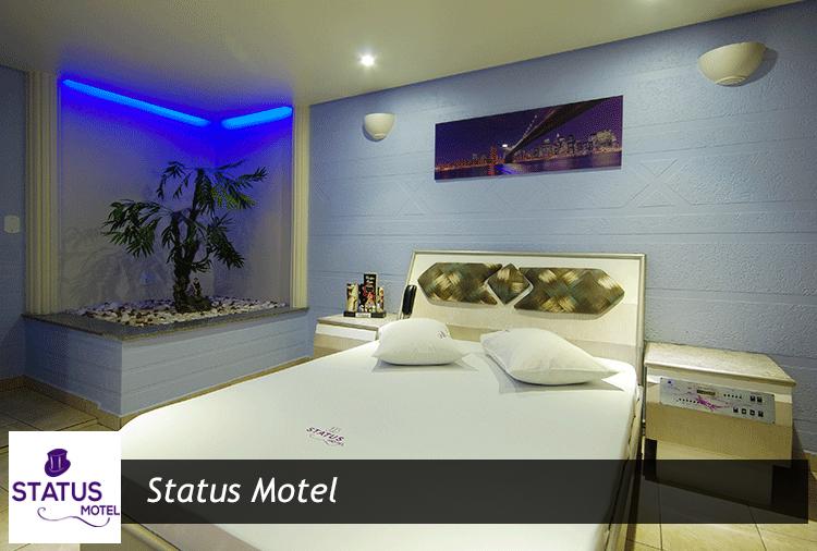 Status Motel: Até 40% off em opções de suítes com hidro e sauna!
