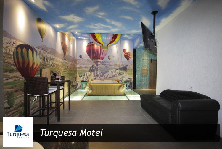 Período de 3 horas + 1 hora grátis, todos os dias, no Turquesa Motel! Aproveite: opção de suíte com hidro!