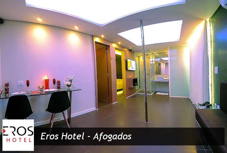 Eros Hotel - Afogados: Suítes a partir de R$ 76,50!