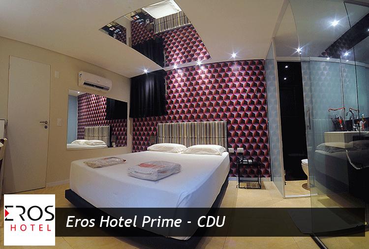 Pernoite ou Diária no Eros Hotel - CDU, aproveite!