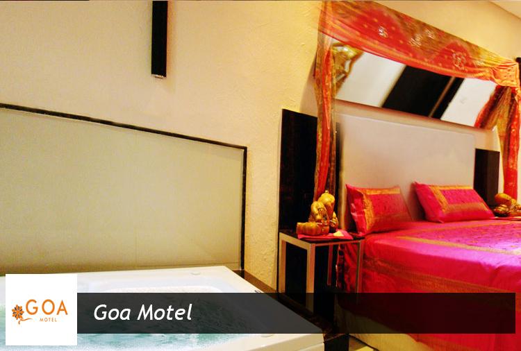 Oferta arrasadora: até 67% off nas suítes do Goa Motel! Opções de Diária, Pernoite, 8h ou 4h!
